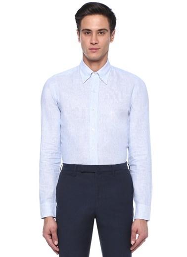 Salvatore Piccolo Gömlek Mavi